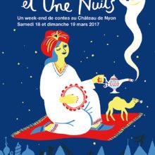 Autour des 1001 nuits: 18 et 19 mars 2017